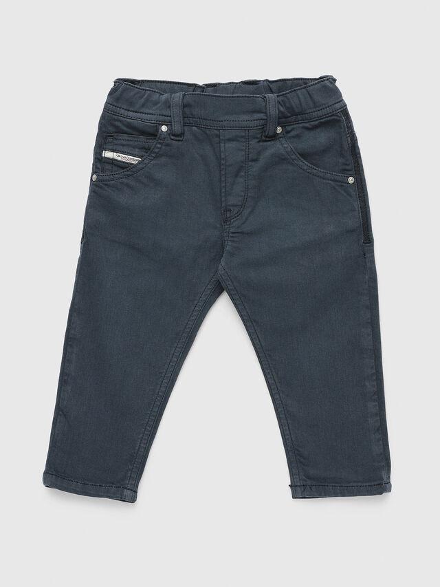 Diesel - KROOLEY-JOGGJEANS-B-N, Navy Blue - Jeans - Image 1