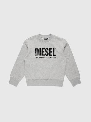 SCREWDIVISION-LOGO O, Grey - Sweaters