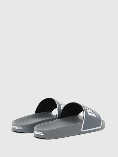 Diesel - SA-VALLA, Grey - Slippers - Image 3