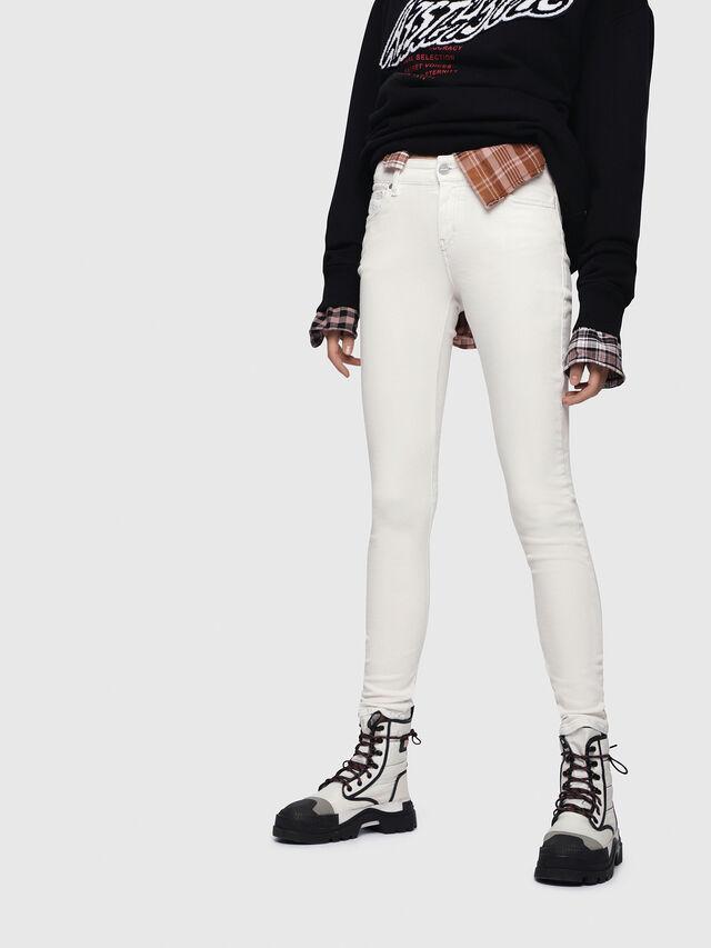 Diesel - Slandy 086AD, White - Jeans - Image 1