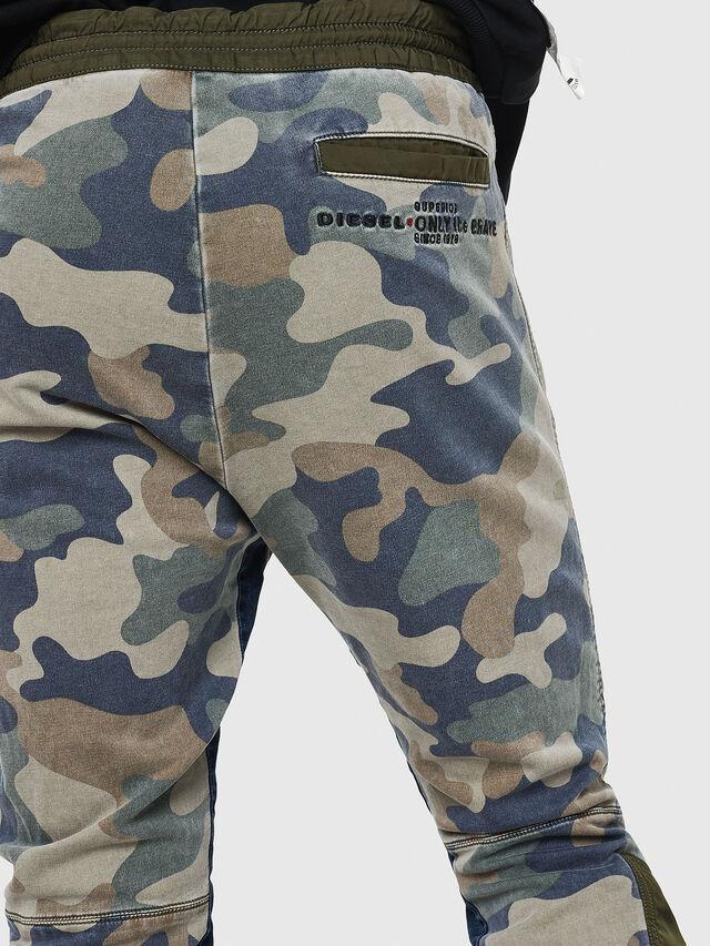 Diesel - D-Eeley JoggJeans 0GAUU, Green Camouflage - Jeans - Image 4