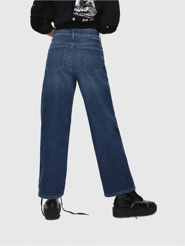 Diesel - Widee JoggJeans 080AR, Dark Blue - Jeans - Image 2
