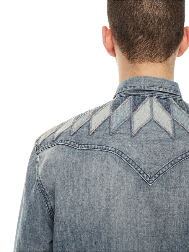 Diesel - SULLYVAN, Blue Jeans - Shirts - Image 4