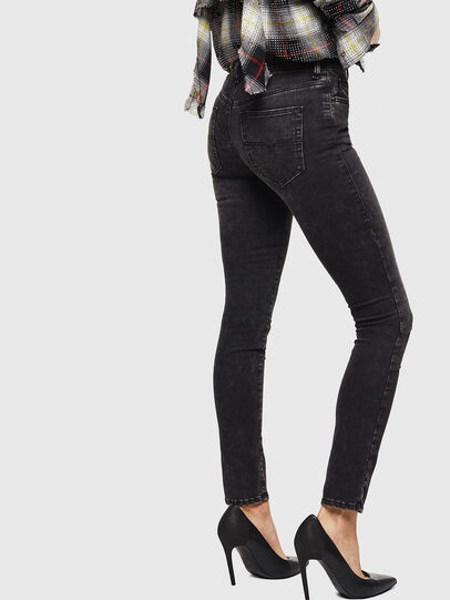 Diesel - D-Roisin 069FW, Black/Dark grey - Jeans - Image 5