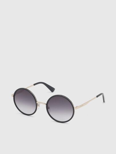 Diesel - DL0276, Black/Gold - Sunglasses - Image 2