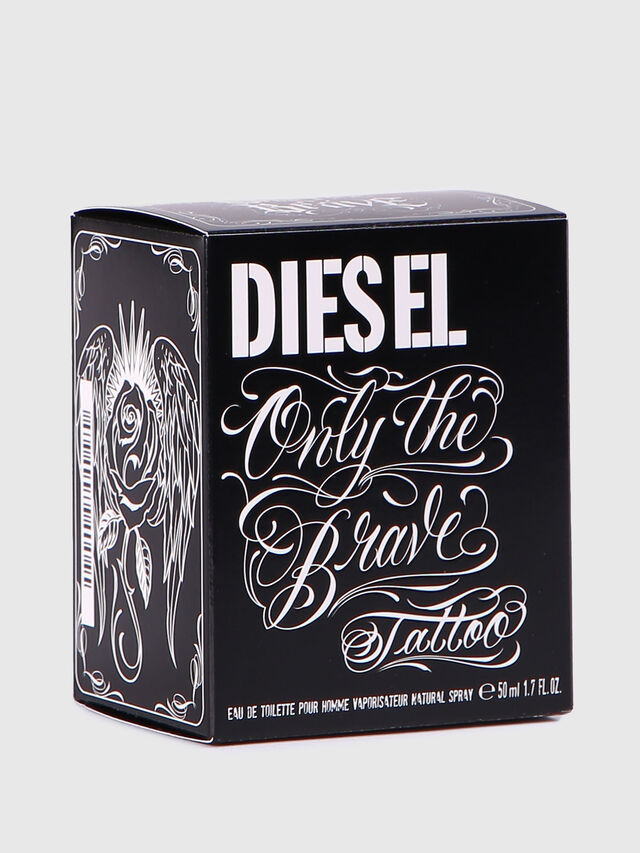 Diesel - ONLY THE BRAVE TATTOO 50 ML, Black - Only The Brave - Image 4