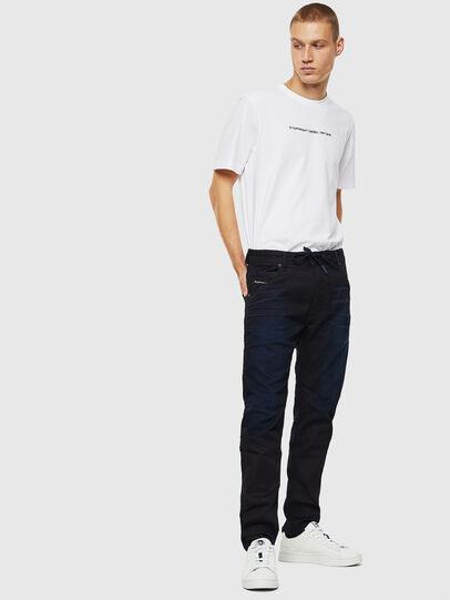 Diesel - Krooley JoggJeans 069IM, Dark Blue - Jeans - Image 5