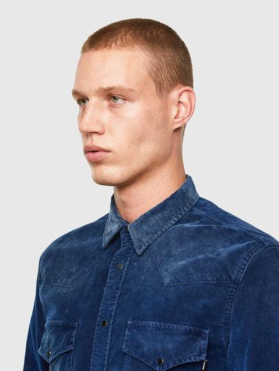 Diesel - S-EAST-LONG-VE, Blue - Shirts - Image 3