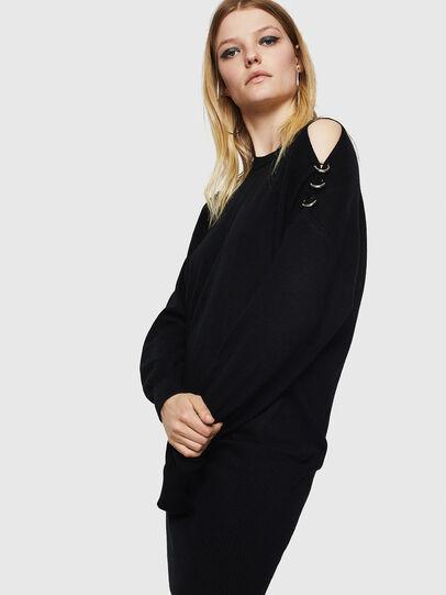 Diesel - M-MERS, Black - Knitwear - Image 5