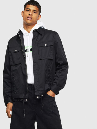 Diesel - J-BEGO, Black - Jackets - Image 4