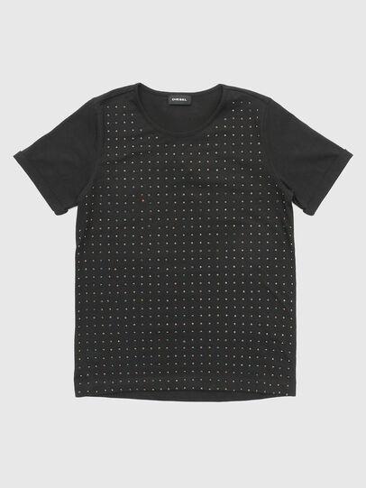 Diesel - TJNOEL, Black - T-shirts and Tops - Image 1