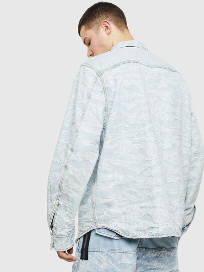 Diesel - D-JESSY, Light Blue - Denim Shirts - Image 2
