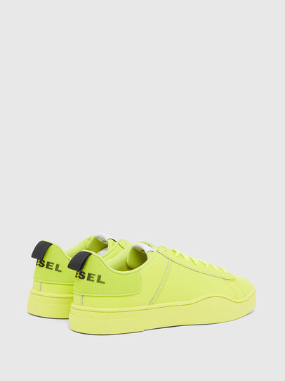 Diesel - S-CLEVER LOW LACE, Yellow - Sneakers - Image 3