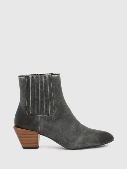 Diesel - D-TEXANNE CH, Dark Green - Ankle Boots - Image 1