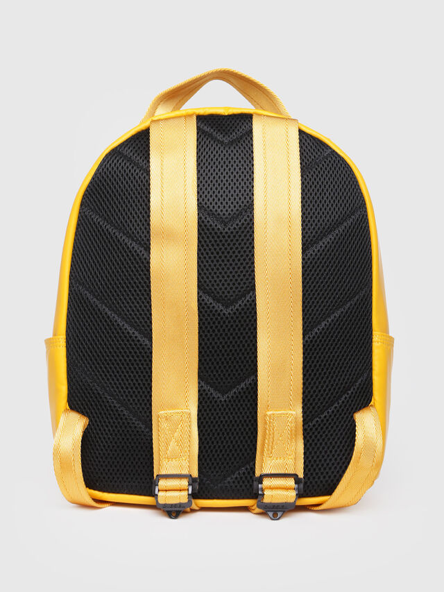 Diesel - F-BOLD BACK FL, Yellow - Backpacks - Image 2