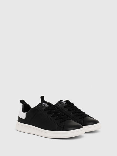 Diesel - SN LOW LACE 11 FULL, Black/White - Footwear - Image 2