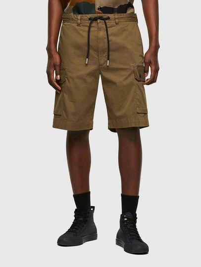Diesel - P-APE, Military Green - Shorts - Image 1