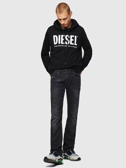 Diesel - Zatiny 082AS, Black/Dark grey - Jeans - Image 6