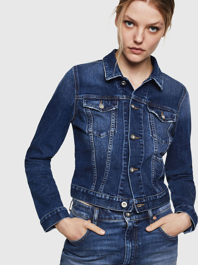 Diesel - DE-LIMMY, Blue Jeans - Denim Jackets - Image 1
