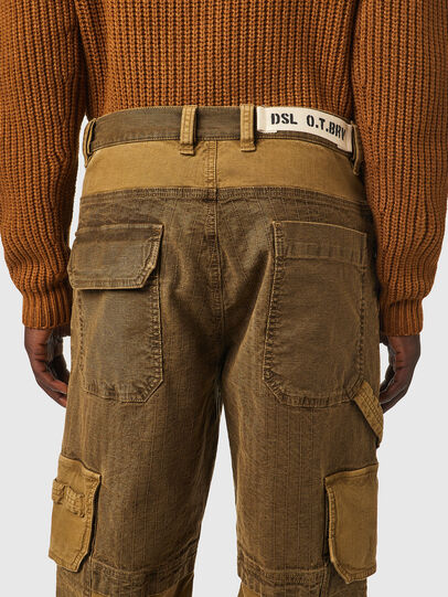 Diesel - D-Multy JoggJeans® 0AFAE, Brown - Jeans - Image 4