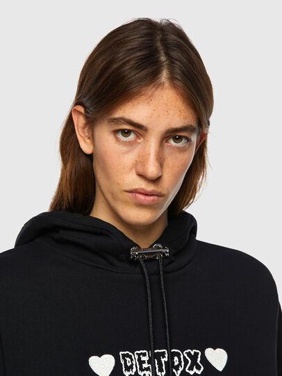 Diesel - F-MAGDALENA-B1, Black - Sweaters - Image 3
