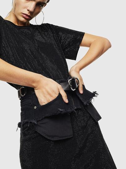 Diesel - D-ARY, Black - Dresses - Image 4
