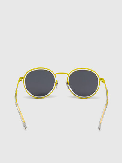 Diesel - DL0321, Black/Yellow - Sunglasses - Image 4