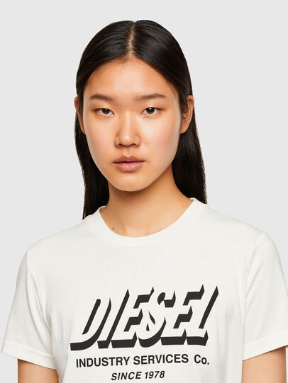 Diesel - T-SILY-R4, White - T-Shirts - Image 3