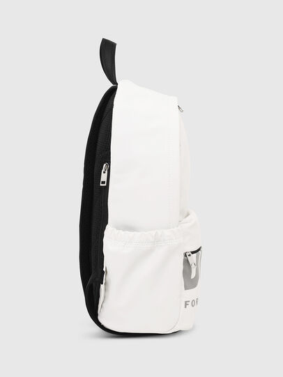 Diesel - F-BOLD BACK FL II, White - Backpacks - Image 3