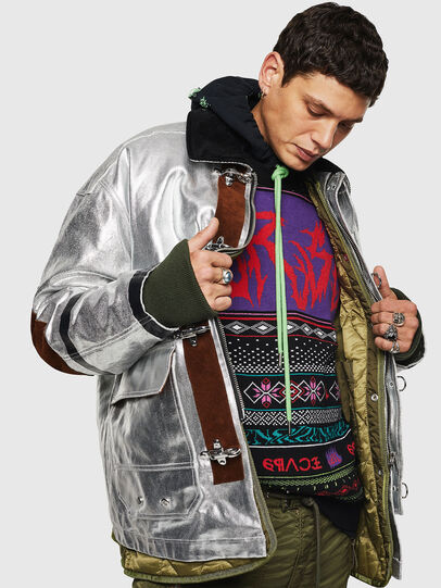 Diesel - K-CHILL, Multicolor/Black - Knitwear - Image 4
