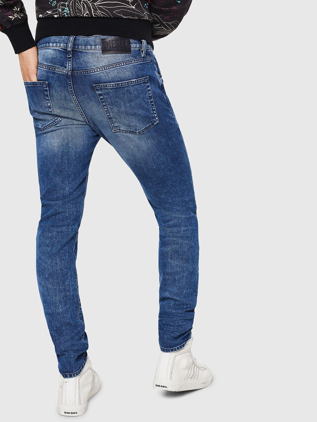 Diesel - D-Strukt 081AQ, Medium blue - Jeans - Image 2