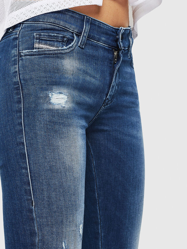 Diesel - Slandy 089AI, Medium blue - Jeans - Image 3