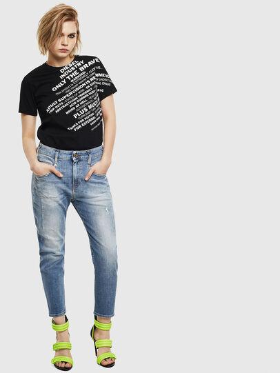 Diesel - Fayza 0099M, Medium blue - Jeans - Image 5