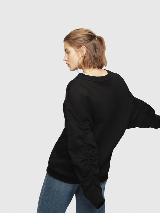 Diesel - F-ARAP, Black - Sweaters - Image 2