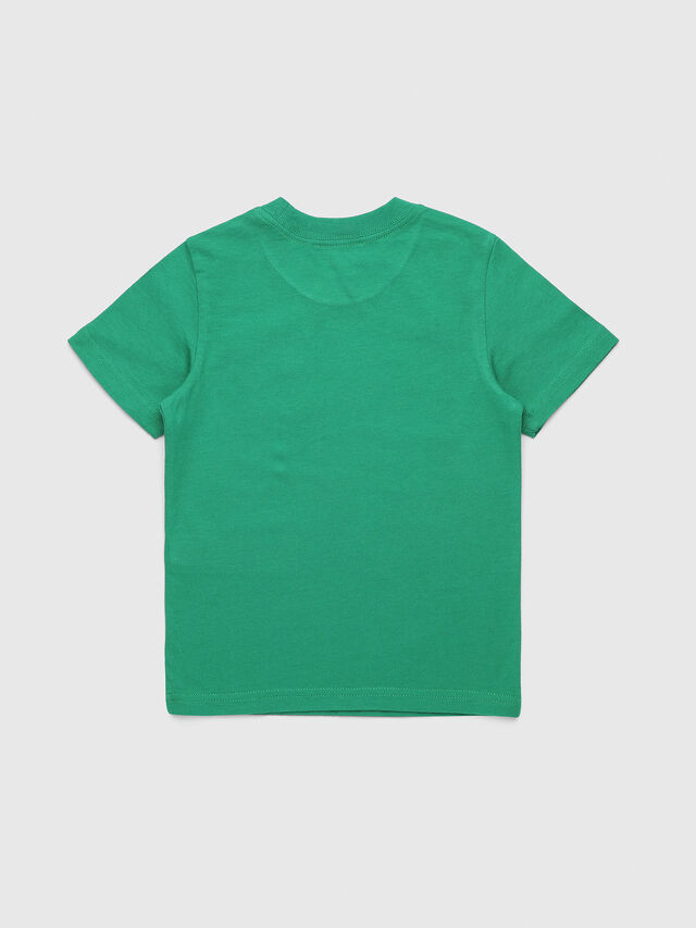 Diesel - TUCSEB-R, Green - T-shirts and Tops - Image 2