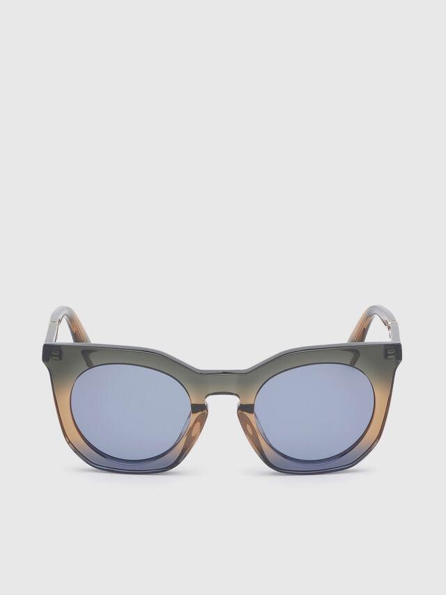 Diesel - DL0283, Blue/Yellow - Sunglasses - Image 1