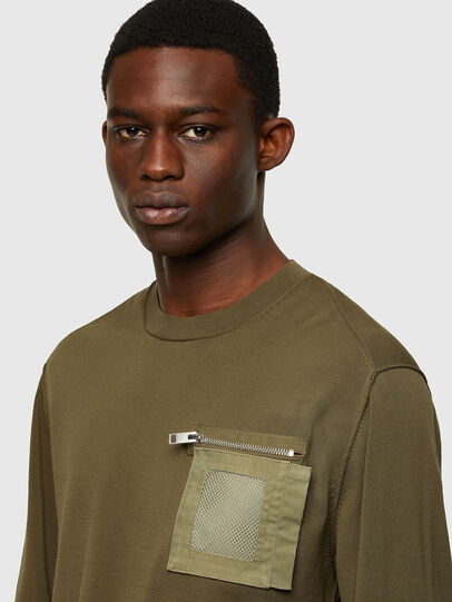 Diesel - K-NAVAJO, Military Green - Knitwear - Image 3