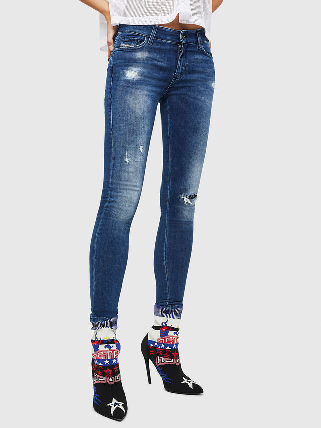 Diesel - Slandy 089AI, Medium blue - Jeans - Image 1