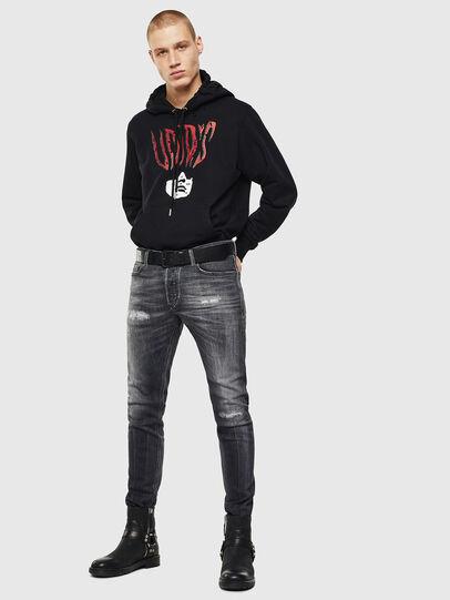 Diesel - Tepphar 0095J, Black/Dark grey - Jeans - Image 5