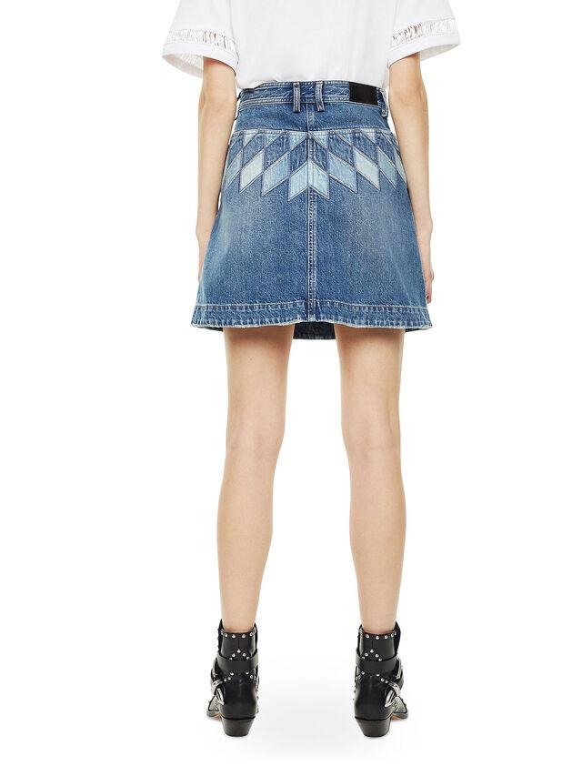 Diesel - OSSANA, Blue Jeans - Skirts - Image 2