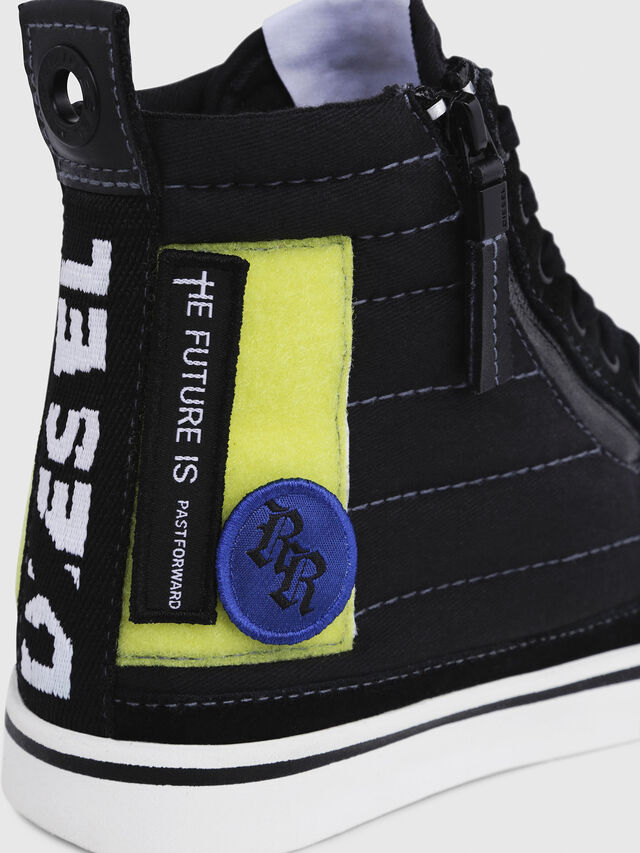 Diesel - D-VELOWS MID PATCH W, Black - Sneakers - Image 5