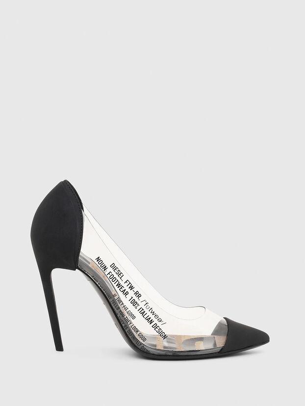 D-SLANTY HPDT, Black - Heels