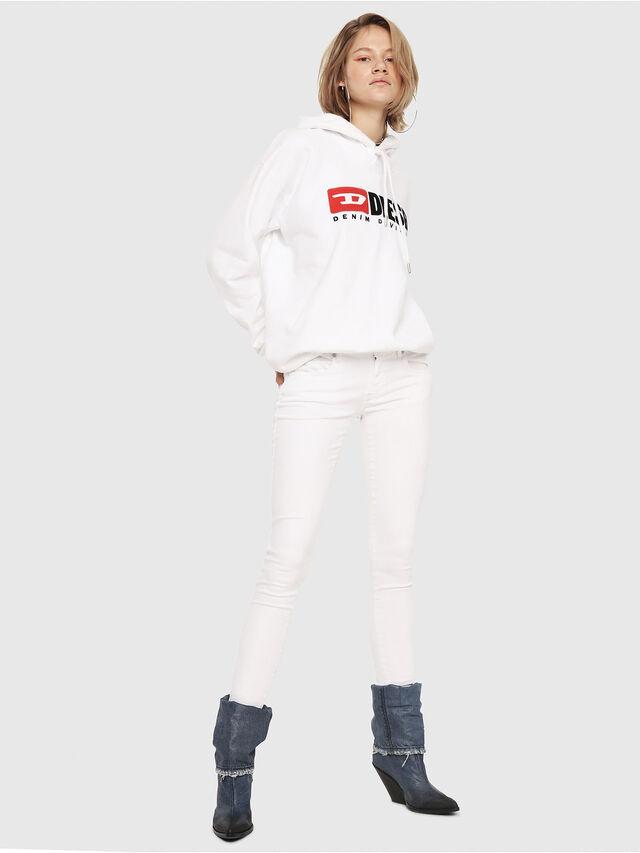 Diesel - Slandy Low 086AC, White - Jeans - Image 4