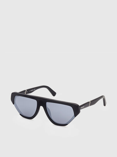 Diesel - DL0322, Black - Sunglasses - Image 2