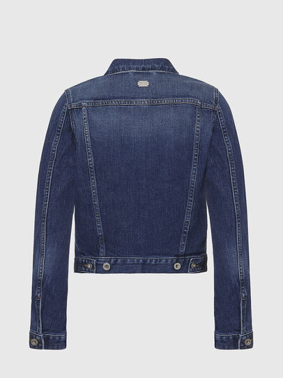 Diesel - DE-LIMMY, Dark Blue - Denim Jackets - Image 2
