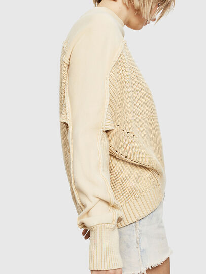 Diesel - M-SUNNY, Beige - Knitwear - Image 3