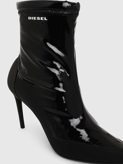 Diesel - D-SLANTY ABM, Black - Ankle Boots - Image 4