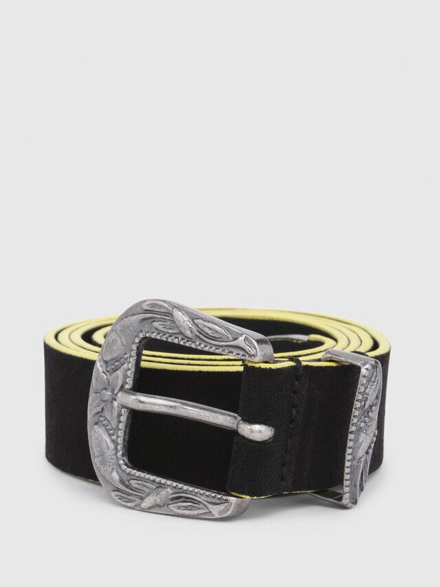 Diesel - B-CALTO, Black/Yellow - Belts - Image 1