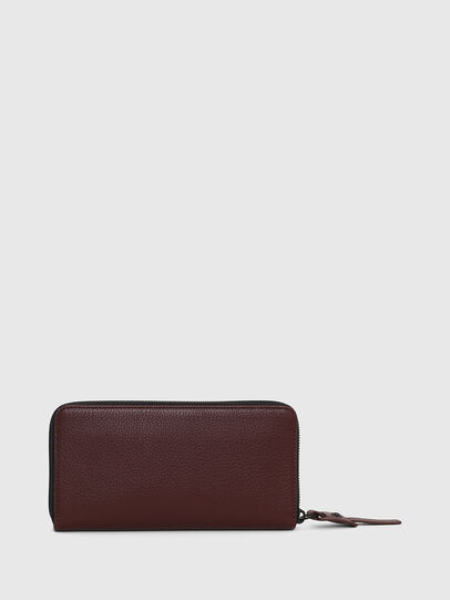 Diesel - 24 ZIP, Burgundy - Small Wallets - Image 2