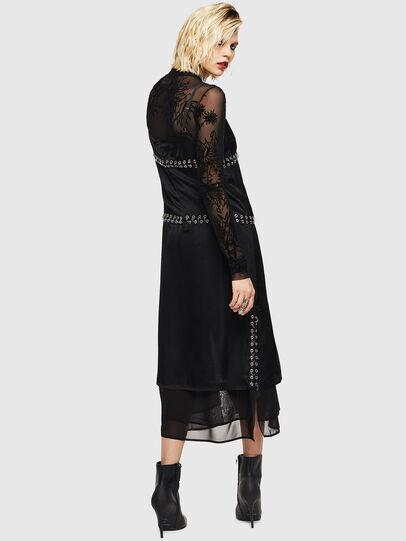 Diesel - D-NAKIA, Black - Dresses - Image 2